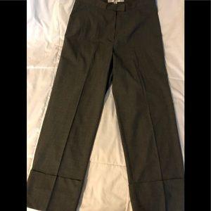 TRINA TURK Wide Cuff Dressy Capri Pants Size 2